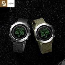 Youpin ALIFIT Outdoor Digitale Uhr Leben Hintergrundbeleuchtung Wasserdicht Kalender Alarm Stoppuhr Countdown Sport Uhr Für Männer Frauen Geschenk