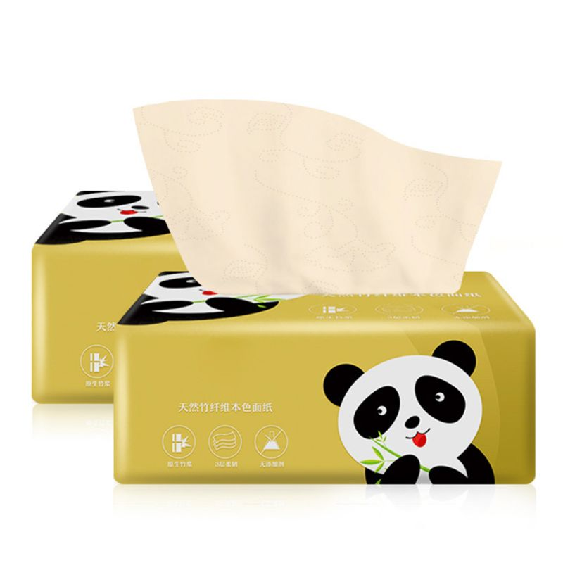 6PCS Silky Smooth Soft Premium 3-Ply Toilet Paper Kitchen Toilet Facial Tissues