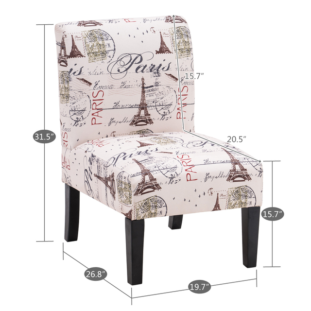 Fabric Single Leisure Chair  2