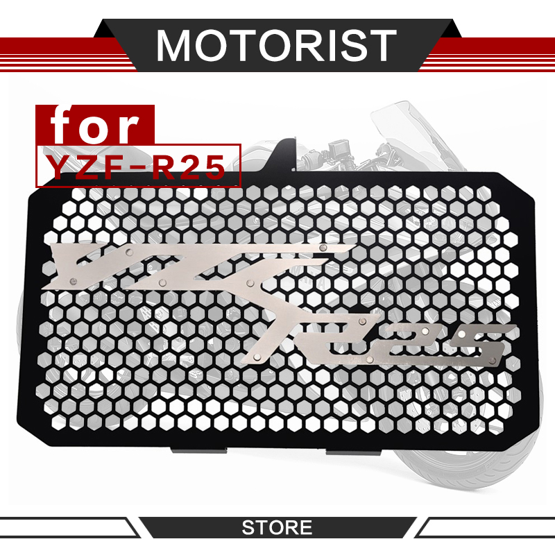 Motorcycle Radiator Guard Grille Protection Water Tank Guard For <font><b>YAMAHA</b></font> YZF-<font><b>R25</b></font> YZF <font><b>R25</b></font> <font><b>r25</b></font> 2018 <font><b>2019</b></font> image