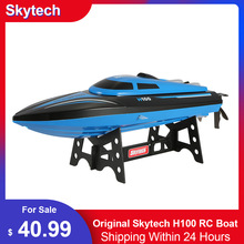 RC Boat Remote-Controlled Skytech H100 High-Speed Electric Flip 180 Original 20km/H