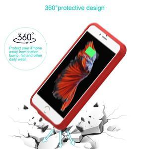 Image 5 - PowerTrust 2800mAh pil şarj cihazı kablosuz şarj akıllı güç bankası iphone 6 6s 7 8 pil kutusu