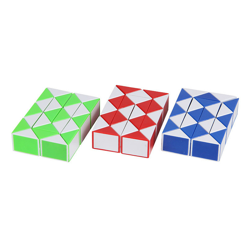 Fun Toys Cube-Stress Puzzles Relief Rainbow 1pcs Strange-Shape img3