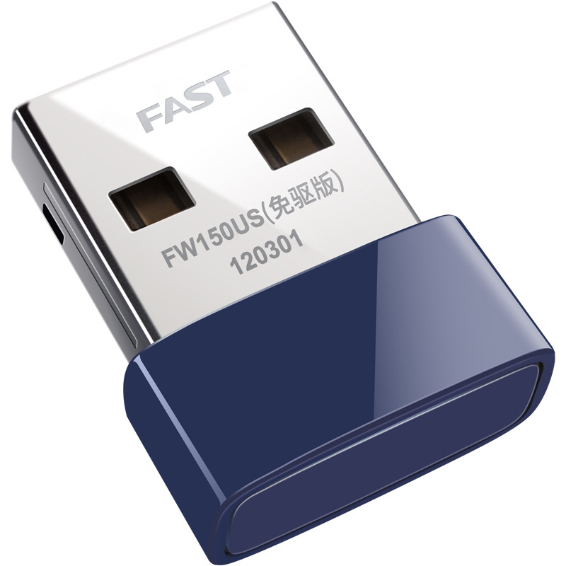 Fast Fw150us Free Drive Version Micro 150m Wireless Card Desktop USB Wireless Network Adapter Wi-Fi Receiver