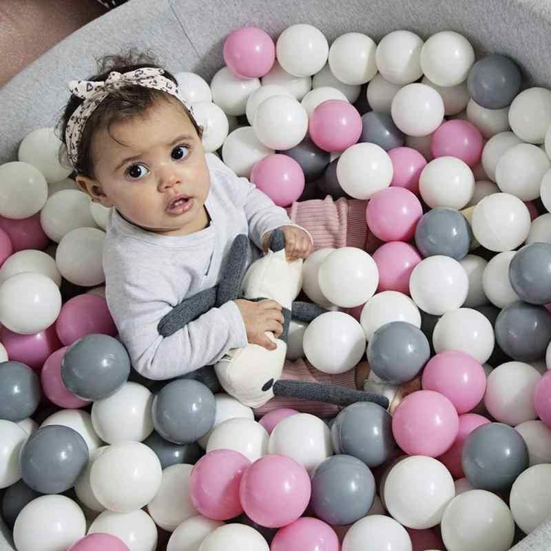 50 pces/100 pces mar bolas crianças oceano crianças tenda casa oceano pvc colorido bola crianças piscina jogando onda