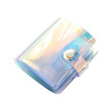 1шт 36 карманы прозрачный цветной лазерный фото книга альбом для держателей карт принтер Instax компании Fujifilm мини 3 дюймов фото альбом