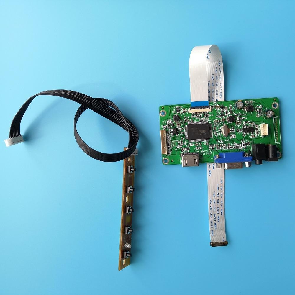 Płyta kontrolera EDP sterownik VGA LCD Kit diy 30 pinów monitor do 60Hz LED LP156WF4(SP) 1920*1080 15.6 calowy kabel wyświetlacza