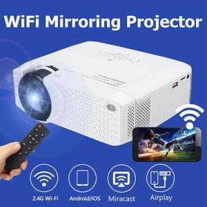 Full HD 1080P 3D светодиодный Wifi видео проектор Мини Портативный Умный домашний кинотеатр HDMI светодиодный проектор