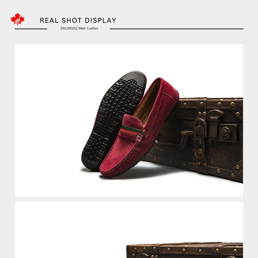 H3cd277e7d0b44f50bfb0381983c93637K Men Loafers shoes 2020 Autumn Fashion Moccasins Footwear Suede Slip-On Brand Men's Shoes Men Leisure Walking Men's Casual Shoes