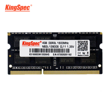 KingSpec ram laptop ddr3 meomry ram 8gb ddr3 Memoria Ram For Laptop 1600MHz ram ddr3 4gb 8gb for Notebook Computer Accessories