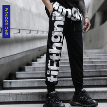 Mens Joggers Casual Pants Fitness Men Sportswear Tracksuit Bottoms Skinny Sweatpants Trousers Black Jogger Track Pants K819 mens joggers casual pants fitness men sportswear tracksuit bottoms man skinny sweatpants trousers male gyms jogger track pants
