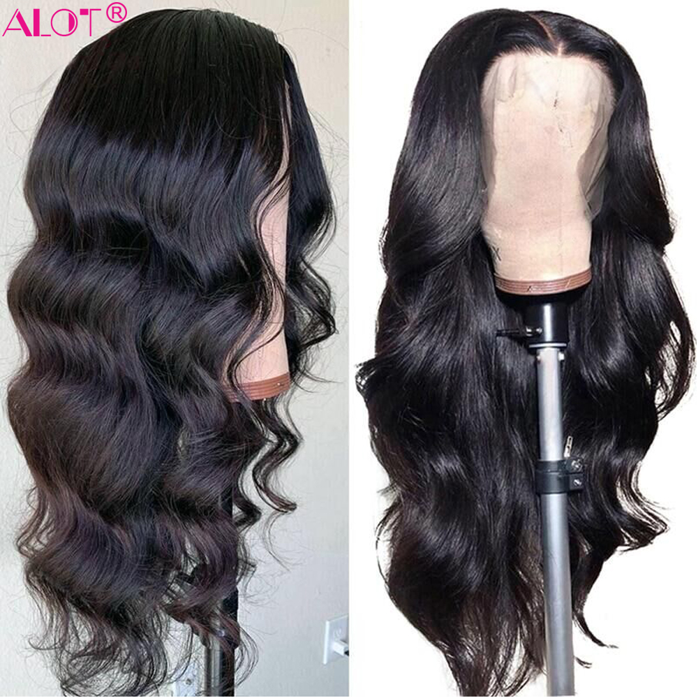 Body Wave Lace Part Wig Brazilian Human Hair Wigs 150% 13x1 Lace Part Wigs Pre Plucked With Baby Hair For Women Remy Wig