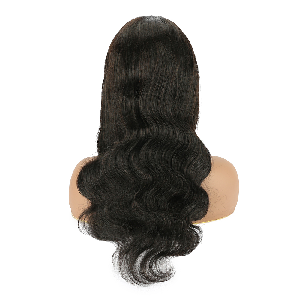 Royal Impression Brazilian Body Wave Lace Front Wigs Hand-tied T Part Lace Wig Remy Human Hair Wig Pre Plucked With Baby Hair