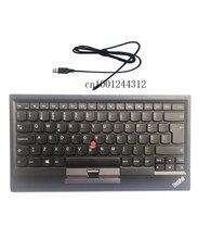 חדש מקורי עבור Lenovo ThinkPad נורבגיה USB מקלדת עם הצבעה מקל עכבר KU 1255 Tablet PC מחשב נייד Trackpoint 03X8737