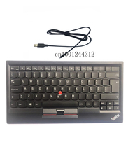 New Original for Lenovo ThinkPad Norway USB Keyboard with Pointing stick mouse KU 1255 Tablet PC Laptop Trackpoint 03X8737