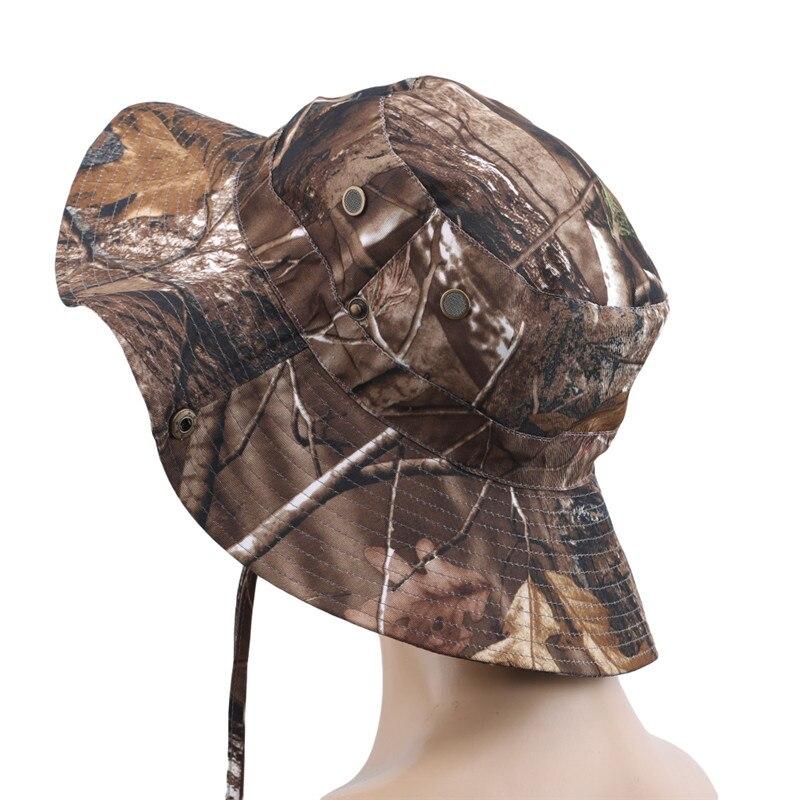cordão militar camuflagem caça chapéu viagem sun