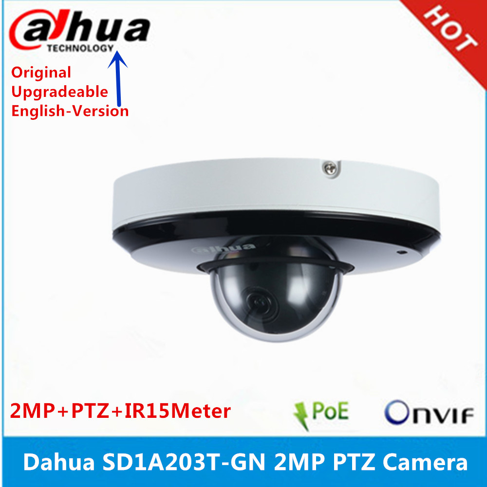 DH SD1A203T GN Dahua d'origine prend en charge IVS PoE IR15m IP66 2MP 3x Starlight IR PTZ caméra réseau SD1A203T GN-in Caméras de surveillance from Sécurité et Protection on AliExpress - 11.11_Double 11_Singles' Day 1