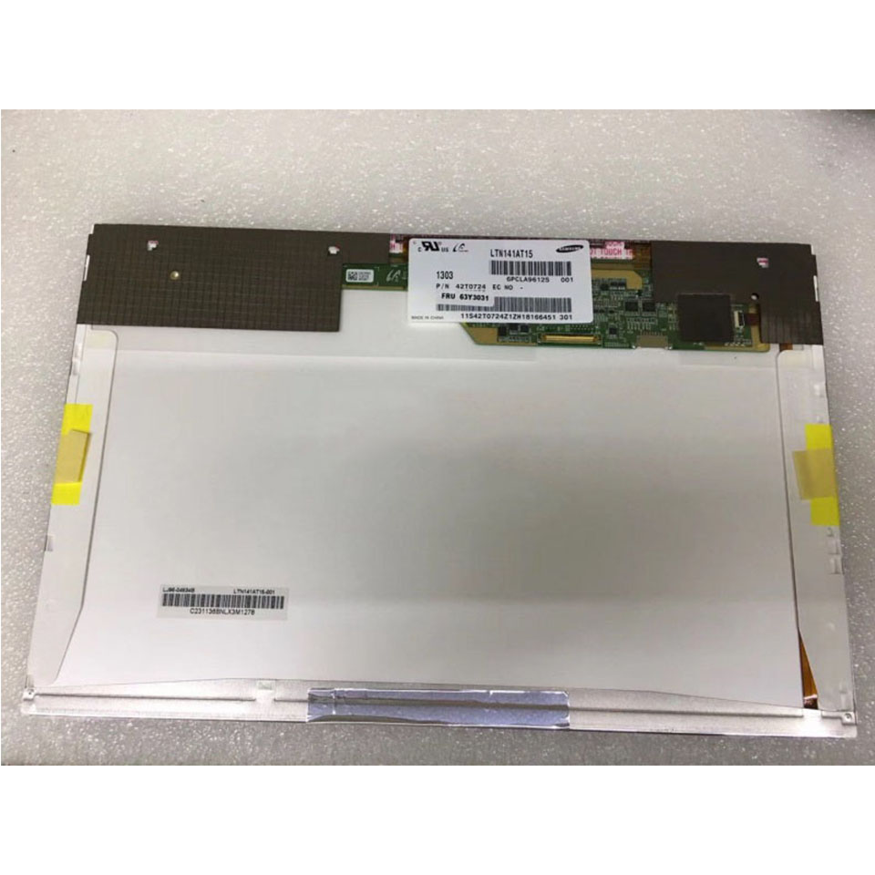 """For Lenovo T410 Laptop LCD LTN141AT15 14.1"""" LED Screen 40 pins 1280x800 Display New Panel Matrix Replacement(China)"""