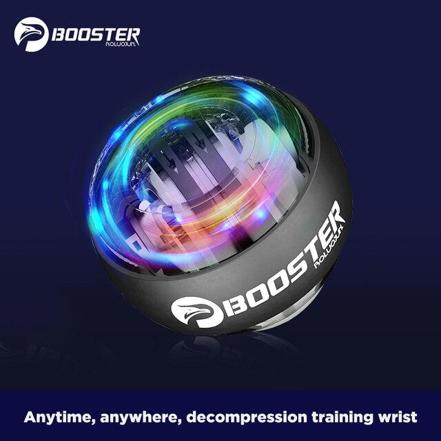 BOOSTER Massage Ball Gyro Wrist Power Ball Trainer Gyroscope Strengthener Arm Exerciser Exercise Machine Gym powerball Fitness 1