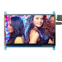 7 inch LCD monitor HDMI 1024X600 HD touch screen capacitive screen for Raspberry Pi 4 Model B 3B+/3B/2B/B+