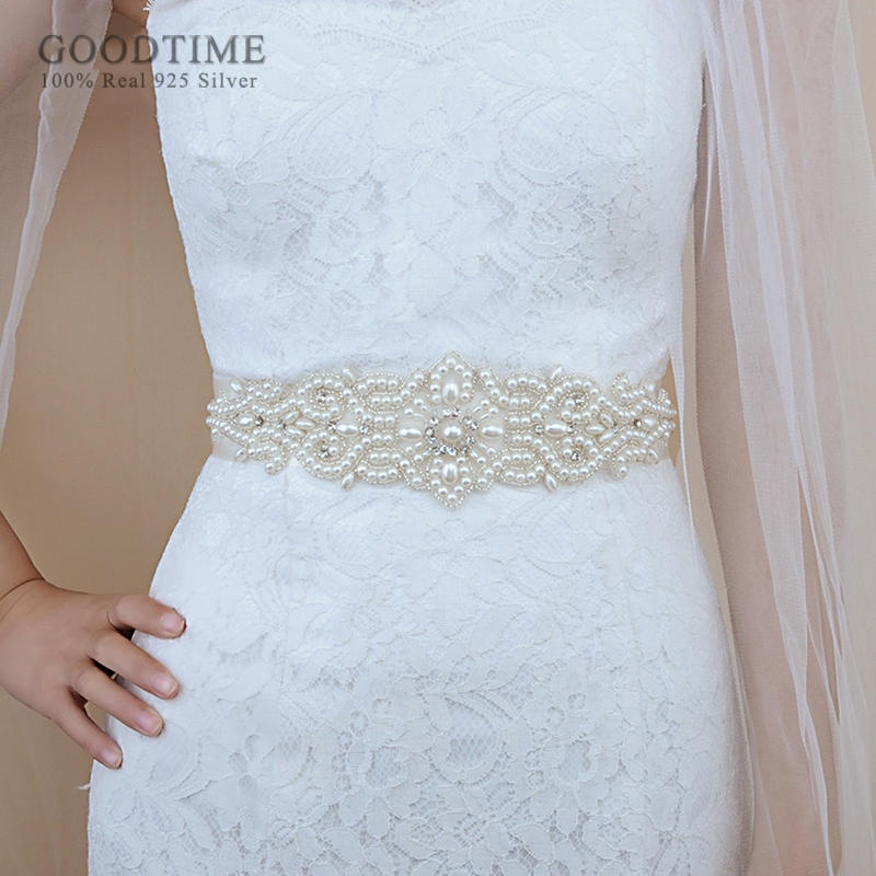 Trendy New Women Belt Bridal Belt Pearl Belt Thin Beaded Bridal Belts Girl Belt Banquet Clothing Belt Gift For Party Dress Up