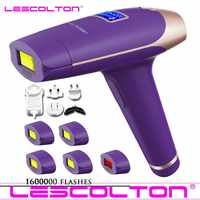 2019 New Lescolton 6in1 5in1 4in1 IPL Epilator Permanent Laser Hair Removal T009i 1600000Pulses depilador a laser Photoepilator
