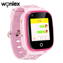Wonlex KT10 Smart-Watch 4G Video Call Kids GPS WIFI Camera Alarm-Clock Child Gift Locator Baby Watch Anti-Lost-Monitor Tracker
