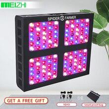 Spider Farmer Dimmable 600W LED Grow Light Full Spectrum Veg Bloom Dimmer Indoor