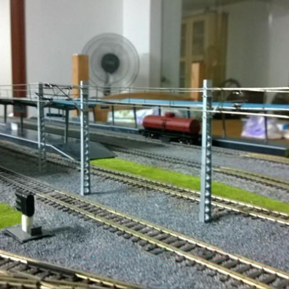 trem layout areia lastro-marrom (sem trilhas ferroviárias e outros edifícios)