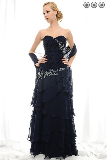 Free Shipping New Design 2018 Maxi Custom Off The Shoulder Plus Size Vestidos Formales Long Black Mother Of The Bride Dresses