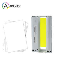 цена на A ABCOLOR 6 inch Ink Cartridge 36 sheets Photo Paper Compatible For Canon Selphy CP1300 CP1200 CP910 CP900 Photo Printer KP-36IN