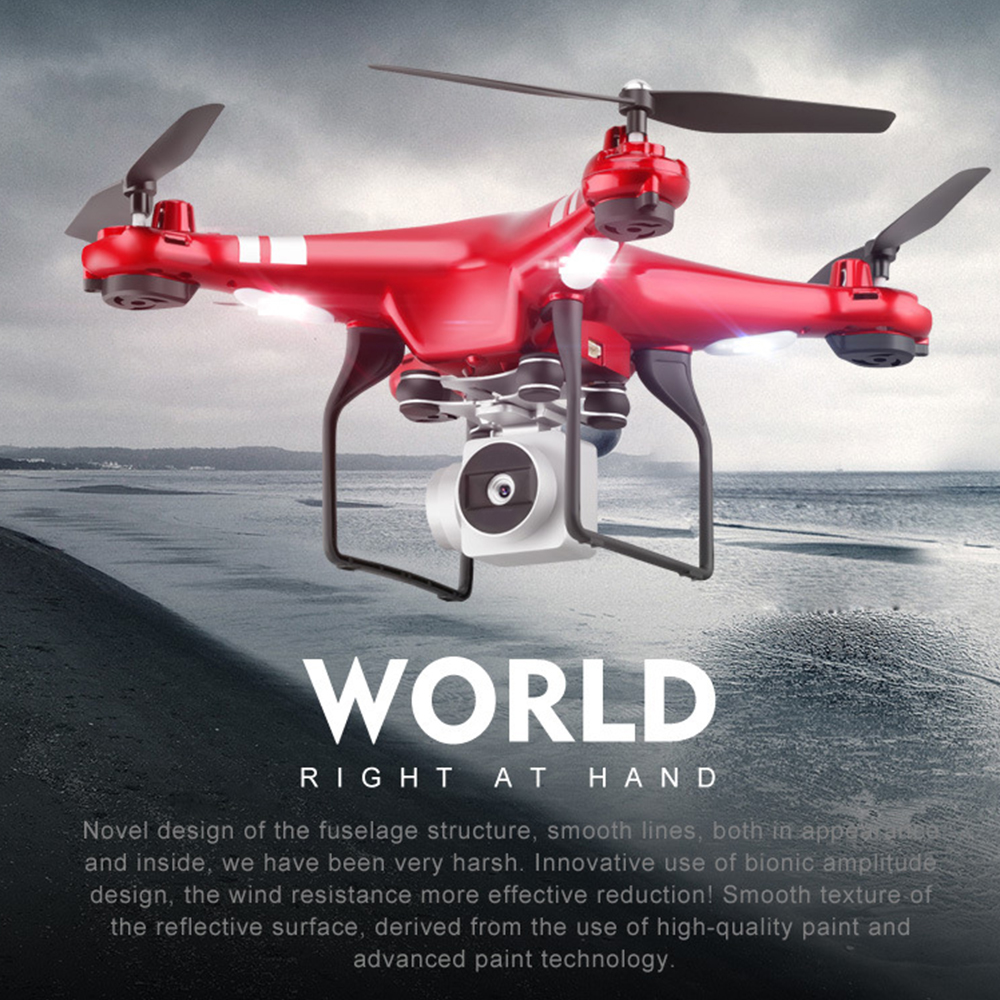X52HD 1080P RC Drone 2.4GHz 30W Camera 4-Axis Altitude Hold WiFi Altitude Hold RC Altitude Hold Quadcopter SET high