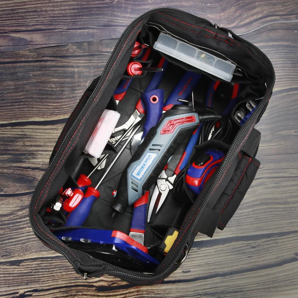 """""""WORKPRO"""" įrankių krepšiai, nešiojami vandeniui atsparūs - Įrankių laikymas - Nuotrauka 6"""