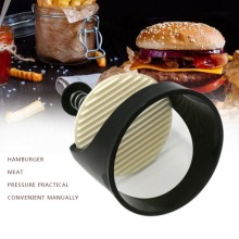 DIY Manual Hamburger Maker Tool Stuffed Burger Press Patty maker Meat Mold Cooking Tools