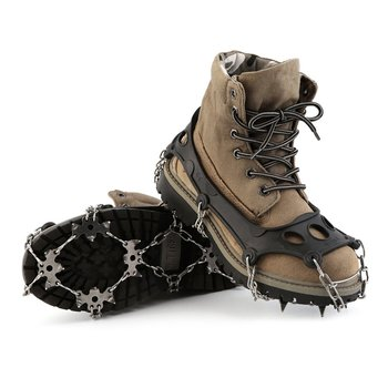 OUTAD TPR Winter Hiking Ice Climbing Crampons Snow Chains For Shoes Ice Shoe Spikes Ice Snow Traction Shoe Durable