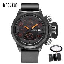 BAOGELA Relogio, модные кварцевые часы, мужские светящиеся силиконовые часы, мужские часы с календарем, наручные часы для мужчин, хронограф, спортивные часы