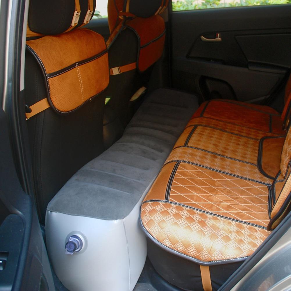 New Car Air Mattress Gap Pad Car Back Seat Air Mattress Inflation Bed Travel Air Bed Inflatable Vehicle Durable Seat Cover