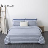 Washed Cotton Cool Bedding Set Knitting Home Textile Solid Color Comforter Cover Flat / Fitted Sheet King Queen Twin Full Size