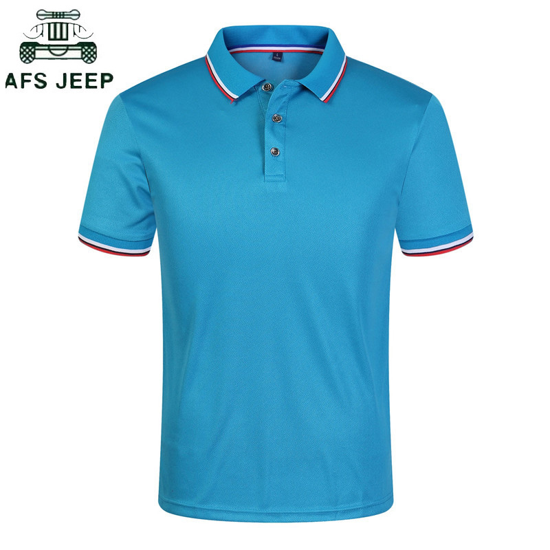 New 2019 Solid Color Summer   Polo   Shirts Men Short Sleeve Breathable Anti-Pilling Brand   Polos   masculina hombre Plus Size S-3XL