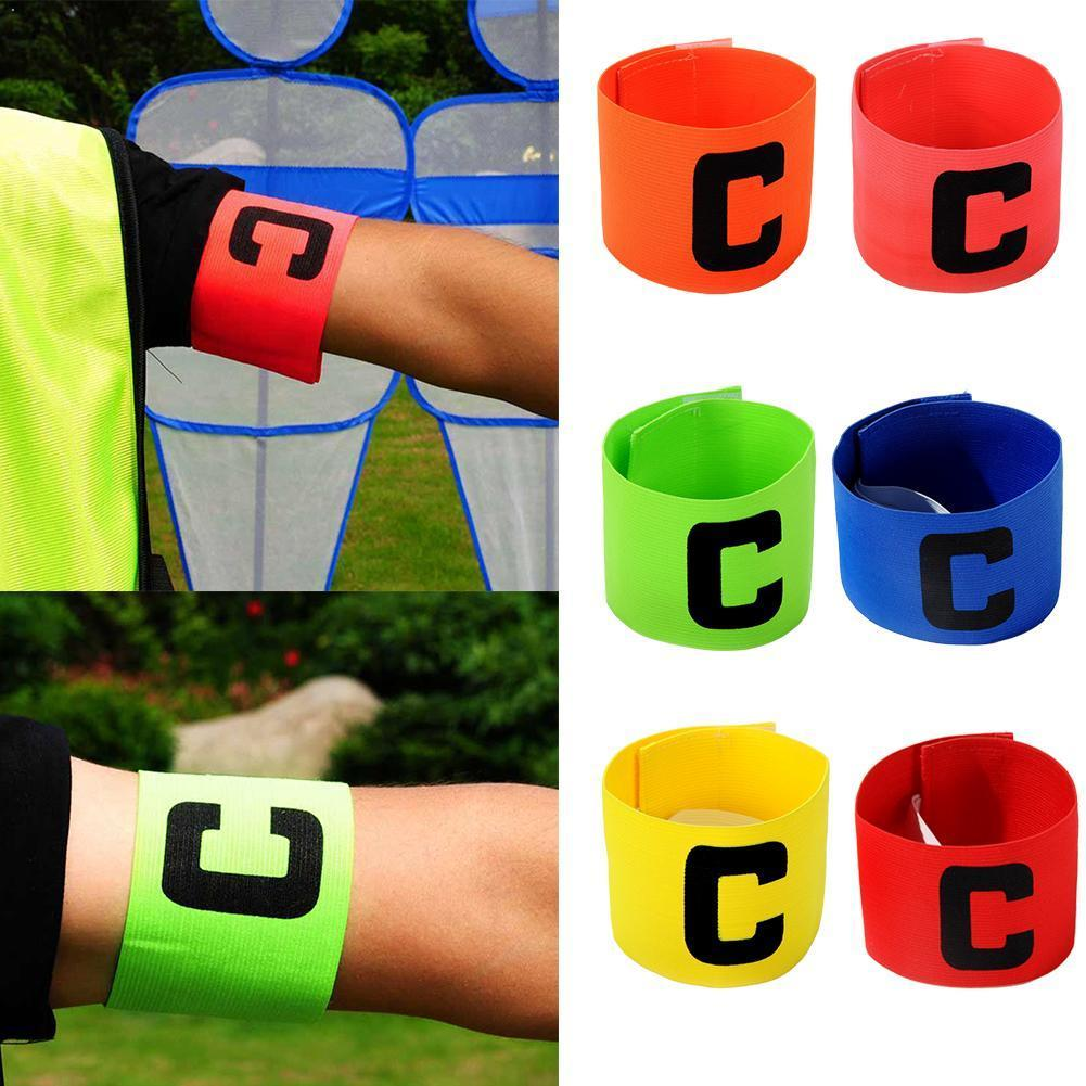 Hot Football Captain Armband Arm Band Leader Competition Armband Training Armband Soccer Captain Soccer Group Gift Football G1Z4