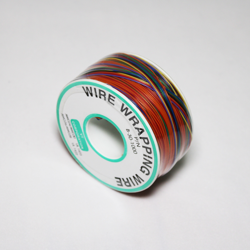 8 Colors Wrapping Tinned Wire 30AWG OK Line PCB Flying Jumper Wire Electrical Wire font b