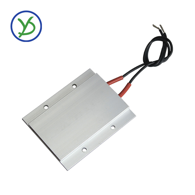 220V Thermostatic Heating Element Ceramic PTC Egg Incubator Heater Aluminum Heater With Shell Surface Insulation 77*62mm