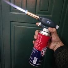 Metal Gun Torch płomień spawanie gaz zapalniczka butan przenośny gaz Camping spawarka gazowa na zewnątrz Camping piesze wycieczki nowy