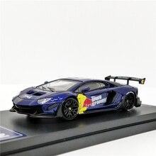 Modelo de tiempo 1:64, Lambor Aventador LP700 4 2,0 RB, modelo de coche fundido a presión