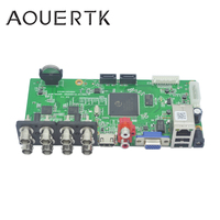 AOUERTK 5in1AHD CVI TVI CVBS 4CH CCTV DVR board support Motion Detection and 5 Record mode