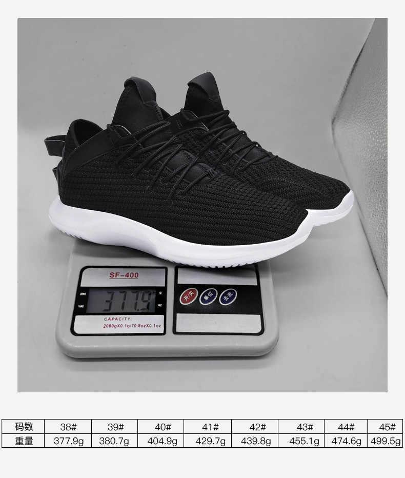 Marka gündelik erkek ayakkabısı Arch korumasi Sneakers adam ışık Zapatillas Hombre Deportiva nefes bahar yaz artı 12 46