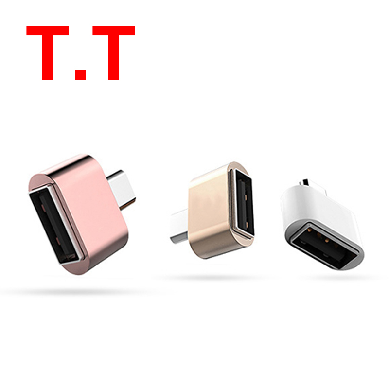 Micro USB Adapter USB to MicroUSB Adapter for Pendrive USB Flash Drive to Phone Mouse Keyboard OTG title=