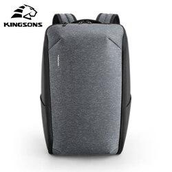 Kingsons Mochila multifunción para ordenador portátil de 15 pulgadas, Mochila de viaje a la moda, resistente al agua, Mochila para hombre, mochilas escolares para hombre, producto en oferta