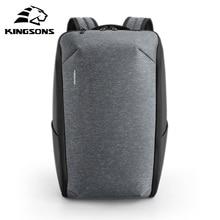 Kingsons Multifunction Men 15 inch Laptop Backpacks  Fashion Waterproof Travel Backpack Anti thief male Mochila school bags hot