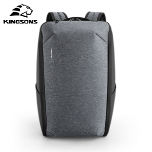 Image 1 - Kingsons Multifunction Men 15 inch Laptop Backpacks  Fashion Waterproof Travel Backpack Anti thief male Mochila school bags hot